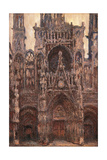 Rouen Cathedral  Evening Effect  Harmony in Brown