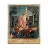 Resurrection of Christ   by Piero della Francesca  1450-63 Palazzo del Comune  Arezzo  Italy