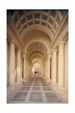 Palazzo Spada  Hallway by Borromini  17th c Rome  Italy