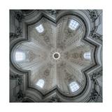 Church of Sant'Ivo alla Sapienza  Rome  Dome interior  1642-1662