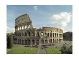 Flavian Amphitheatre or Coliseum in Rome  79-80 AD Rome  Italy