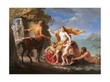 Thetis Entrusting Achilles to the Centaur Chiron