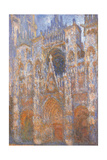Rouen Cathedral  Full Sunlight Harmony in Blue
