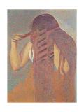 La chevelure (The Head of Hair) Henri-Edmond Cross  1892 Musee d'Orsay  Paris  France