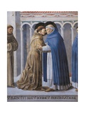 St Francis Meeting of StFrancis and St Dominic