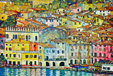 Gustav Klimt Malcena at the Gardasee