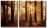 Tahoe Smoky Sunrise Tableau multi toiles par Mike Jones