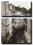 Little Canal  Prague  Czech Republic