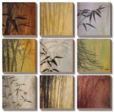Bamboo Nine Patch II Tableau multi toiles par Don Li-Leger