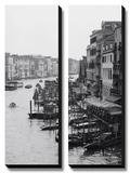 Rangée de bateaux, Venise Tableau multi toiles par Cyndi Schick