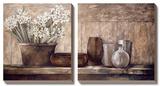 Jacinthe sur un plateau Tableau multi toiles par Linda Thompson