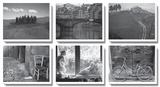 Toscana Tableau multi toiles par James O'mara