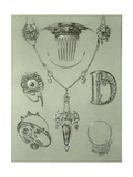 Study for Plate 49 from 'Documents Decoratifs'  1902