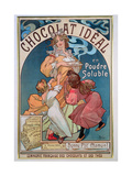 Poster Advertising 'Chocolat Ideal'  1897