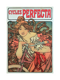 Poster Advertising 'Cycles Perfecta'  1902