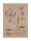 Study for Plate 69 of 'Documents Decoratifs'  1902