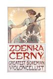 Zdenka Cerny  the Greatest Bohemian Violoncellist  1913