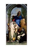 The Virgin and Three Dominican Saints  1740