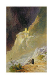 Mount Athos  the Monastery of St Paul  1858