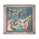 Lamentation over the Dead Christ  c1305 (Post Restoration)