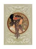 Tetes Byzantines: Brunette  1897