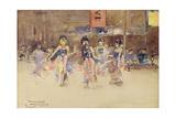 The Javanese Dancers  1889
