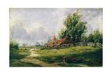 Landscape  c1837