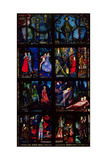 The Geneva Window  Eight Panels Depicting Scenes from Early Irish Literature  1929