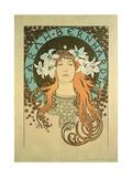 Sarah Bernhardt (1844-1923) La Plume  1896