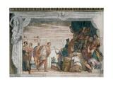 St Sebastian before Diocletian  1555-70