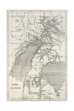 Alberta And Victoria Lakes Region Old Map  Nil River South Of Gondokoro