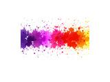 Watercolor Blot Abstract