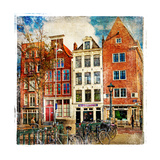 Amsterdam - Artwork In Painting Style