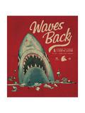 Summer Shark Beach Sketch 3