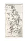 Nile Basin Old Map By Unidentified Author  Published On Le Tour Du Monde  Paris  1867