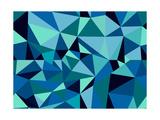 Unusual Abstract Geometric Seamless Pattern