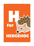 H For The Hedgehog  An Animal Alphabet For The Kids