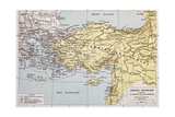 Athenian Empire Old Map