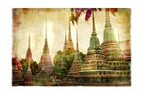 Amazing Bangkok - Artwork In Painting Style