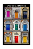 The Old Georgian Doors Of Dublin