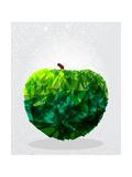 Green Apple - Geometric Shape