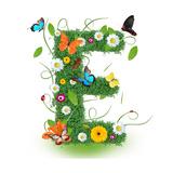 "Beautiful Spring Letter ""E"""