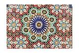 Beautiful Mosaic In Muscat  Oman
