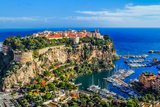 The Rock The City Of Principaute Of Monaco And Monte Carlo In The South Of France