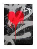 Cœur qui saigne Reproduction d'art par Barsik