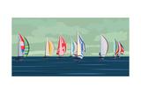 Sailing Yacht Regatta