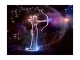 Sagittarius Archer Reproduction d'art par Helein