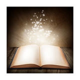 Open Magic Book