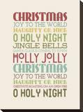 Christmas Subway II Tableau sur toile par Pamela Fogul