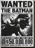 Batman Arkham Origins (Wanted) Tableau sur toile